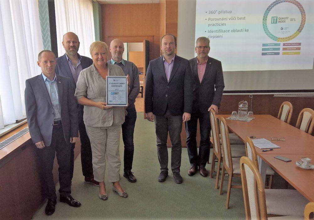 (Čeština) Další dokončené měření kvality IT ve veřejné správě